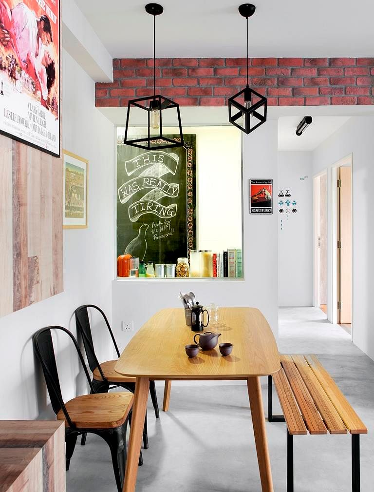 Simple dining areas fuse concept 2