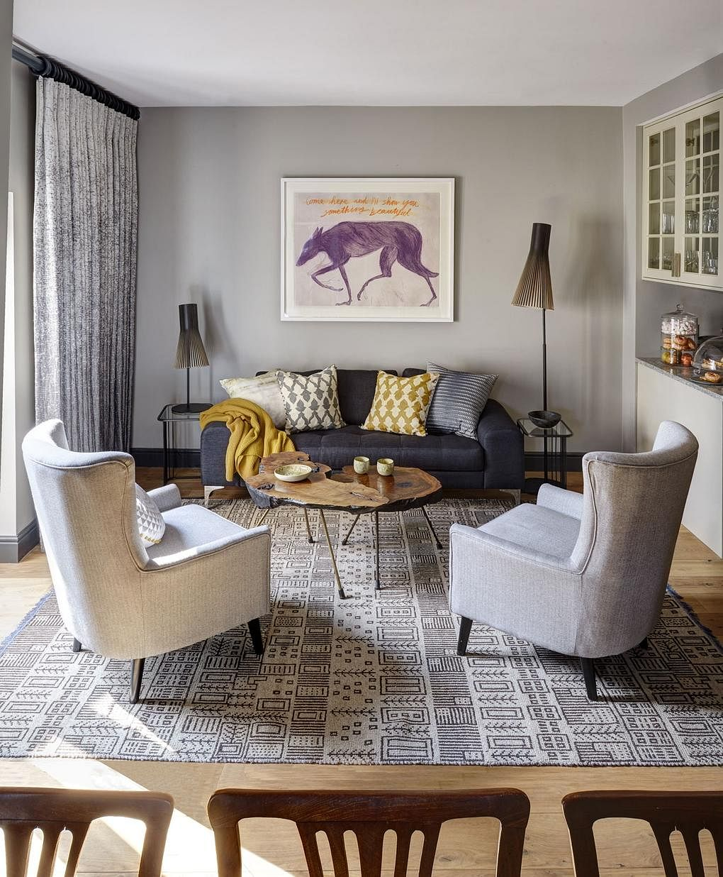 House Tour: A cosy duplex home combining contemporary and ...