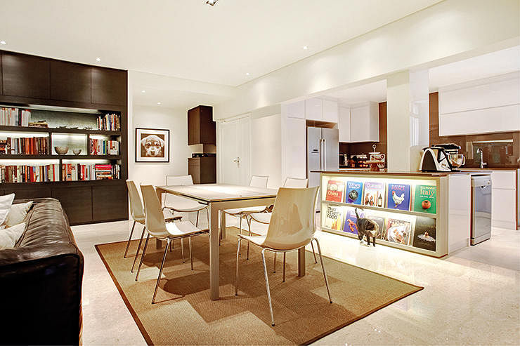 Homes Of Bibliophiles Bookshelves Take Centre Stage In These Impressive Apartments Interior Design Collection