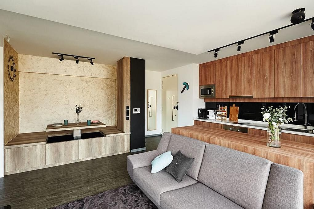 D5 studio living and kitchen 1
