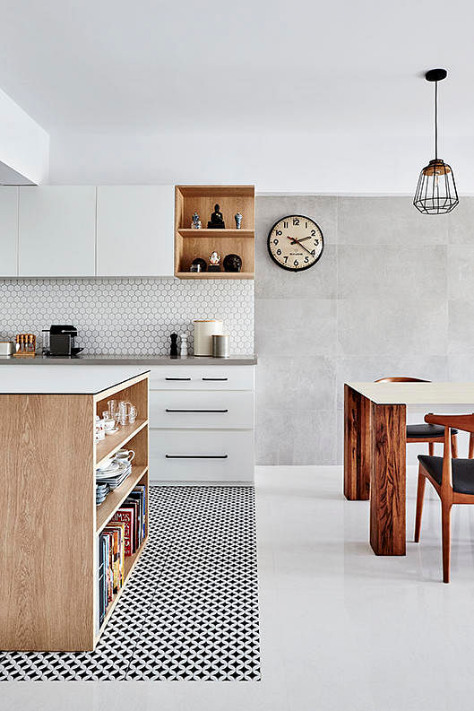 8 stylish ways to use black-and-white tiles at home | Home & Decor ...
