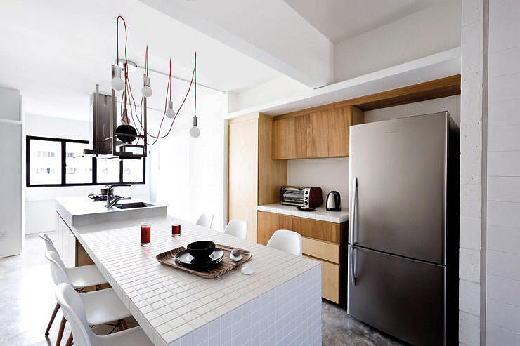 House Tours Small Hdb Homes With Kitchen Islands Home