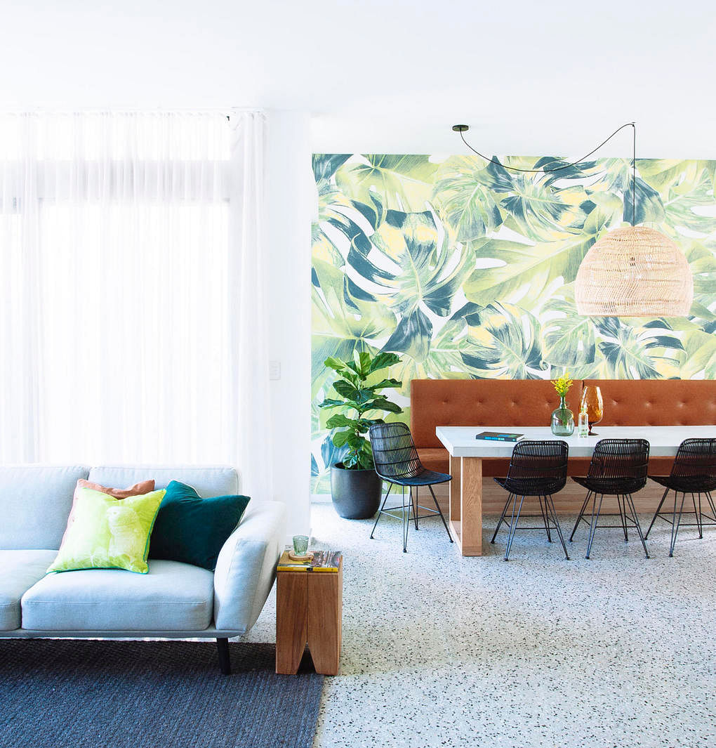 House Tour A Casual Home With Nature Inspired Materials