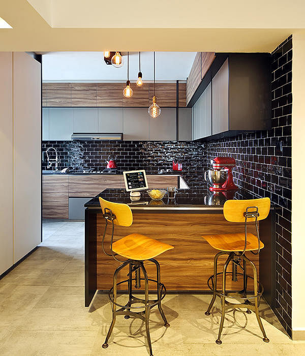 Kitchen Bar Counter Singapore: 9 Homes With Peninsula Kitchen Counters