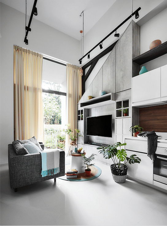 8 fresh ideas for the television feature wall | Home & Decor Singapore