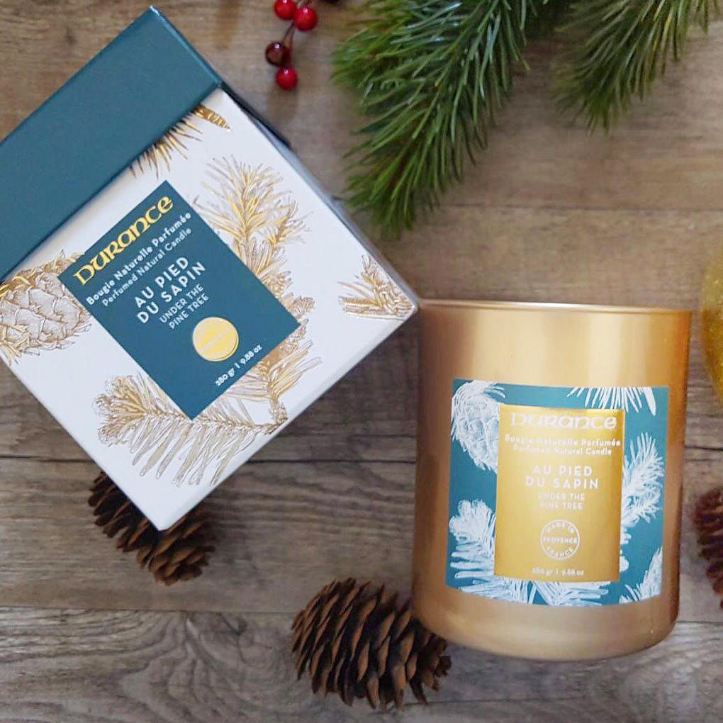 Durance christmas 2017 under the pine tree 280g candle