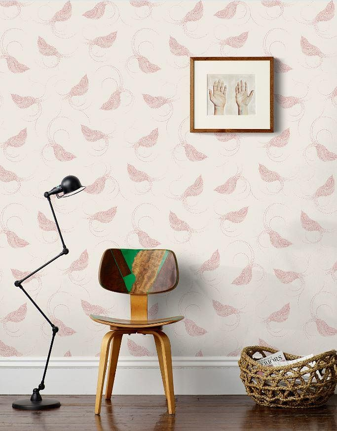 Hygge and west blush wallpaper