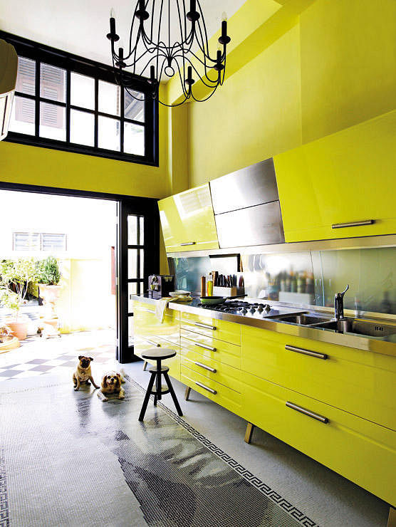 Block kitchen Design intervention
