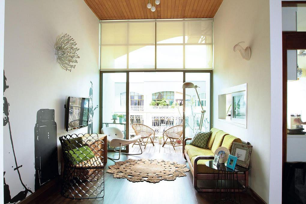 Katong Gardens Living Room Rug