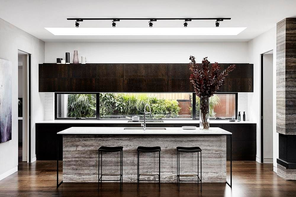 8 homes with chic, dark-hued kitchens | Home & Decor Singapore