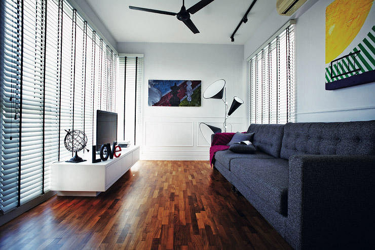 House Tour: Modern twist to classic English look in this condo ...