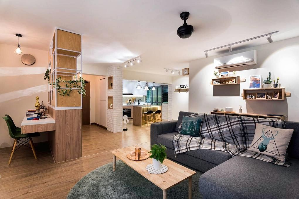 House Tour Scandinavian Style Cafe Inspired Five Room