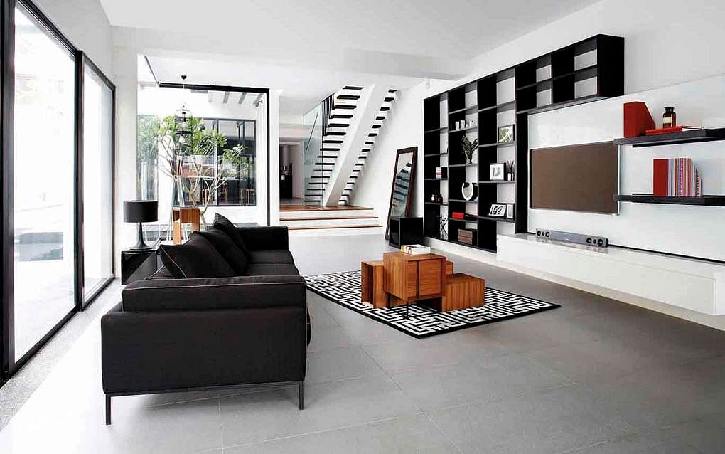 House Tour: Open-plan design and statement furniture in this semi ...