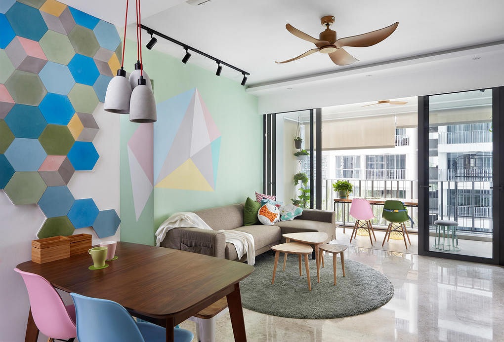 Pastel Hues In These 10 Modern Interiors Home Amp Decor