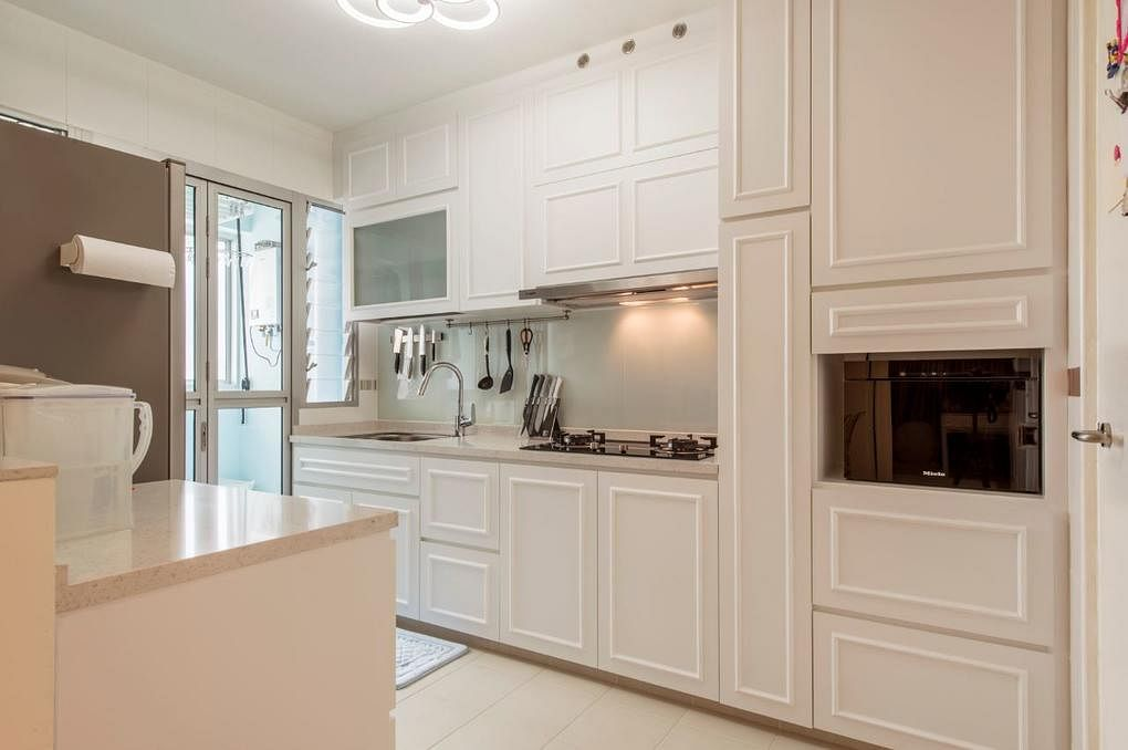 Steal kitchen design ideas from these four-room BTO homes   Home ...