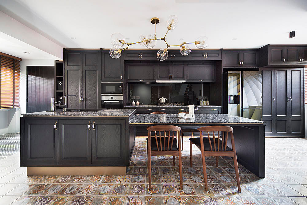 7 gorgeous kitchen islands with attached tables | Home ...
