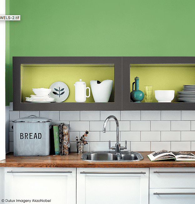 Quick-fix kitchen ideas dulux paint 5