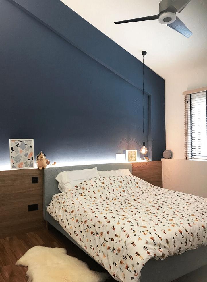 Hdb Bedroom: House Tour: A Contemporary-style HDB Maisonette