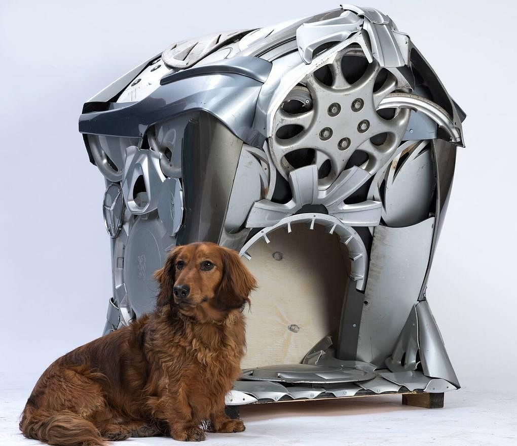 architect designed dog homes Ptolemy Dean