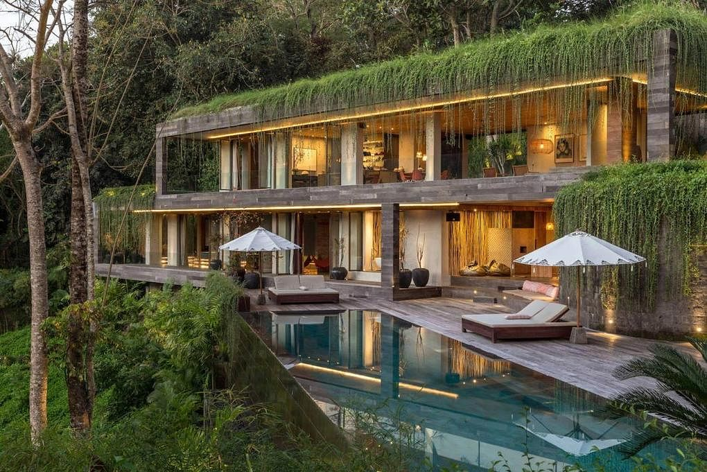 House Tour Lush Tropical Home In Bali With Modern Industrial