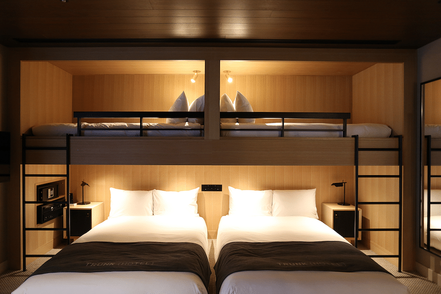 Stylish design hotels in Japan Trunk 3