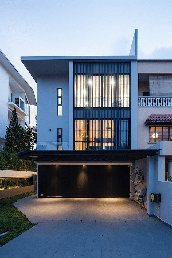 House Tour A Contemporary Style Bright And Cosy Three Storey Semi