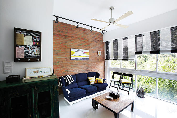5 Modern Homes That Make Bamboo Roller Blinds Look Very Fashionable