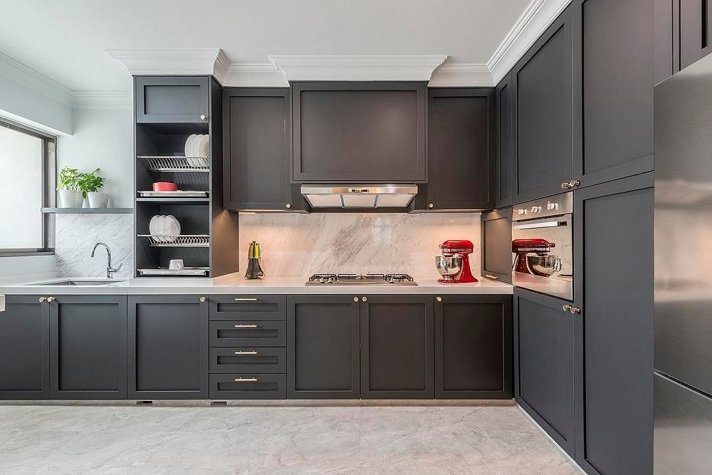 5 Kitchens With Shaker Style Cabinetry Home Decor Singapore