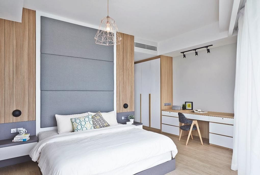 6 modern Scandinavian-style bedrooms that are restful and ...