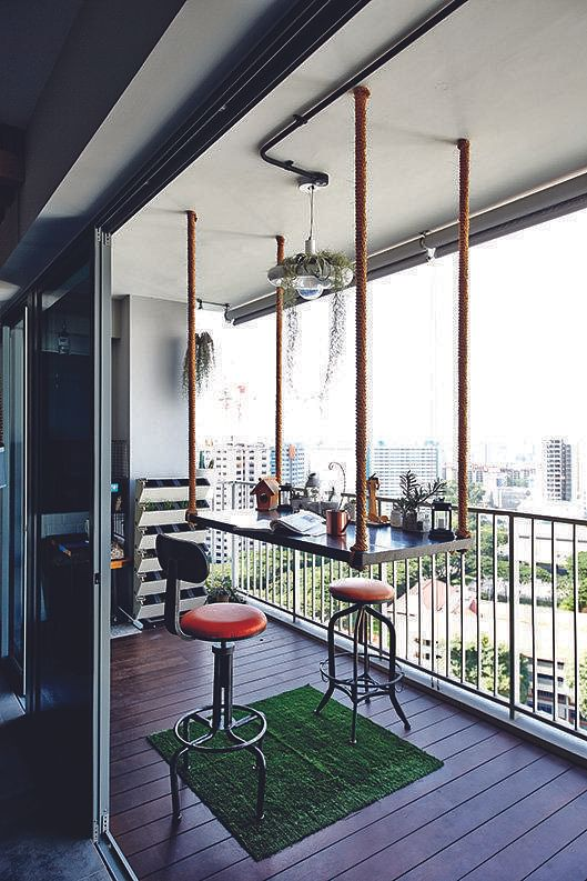 8 Balcony Design Ideas From Real Homes In Singapore Home