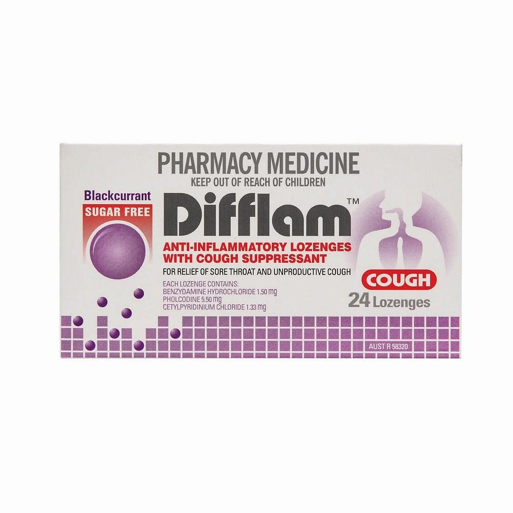 Meds for home3 difflam lozenges