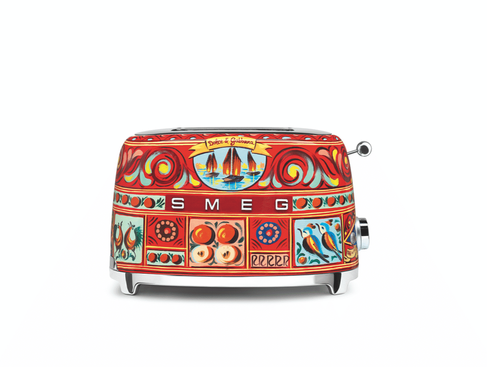 8Smeg dolce and gabbana toaster