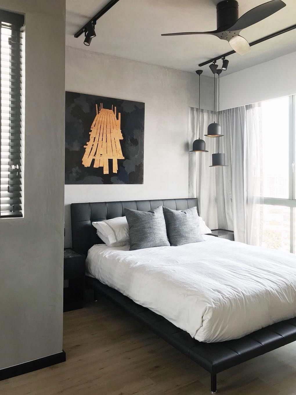 10 stylish bedrooms decorated with art   Home & Decor Singapore