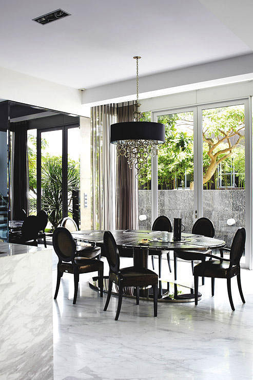 8 Stylish Modern Classic Dining Rooms To Inspire You 1