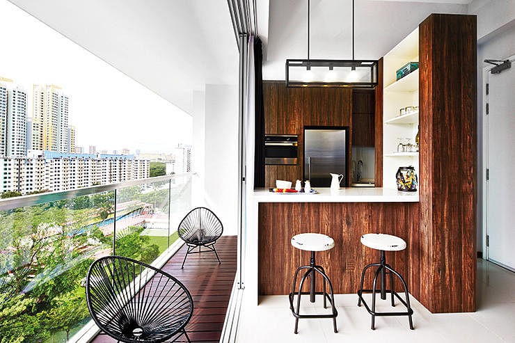 6 Creative Things To Do With A Hdb Flat S Balcony Home Decor