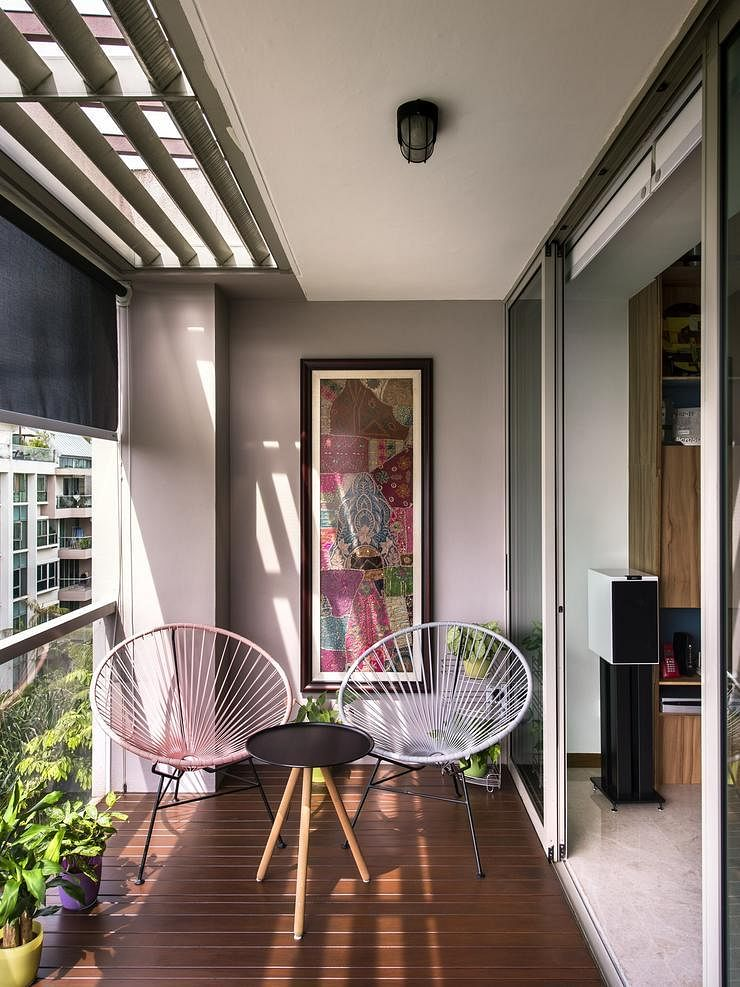 Living Room Design Ideas Singapore 13 balcony designs that'll put you at ease instantly | home