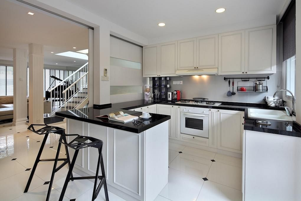 5 traditional modern kitchens we love home decor singapore - Classic contemporary kitchen design ...