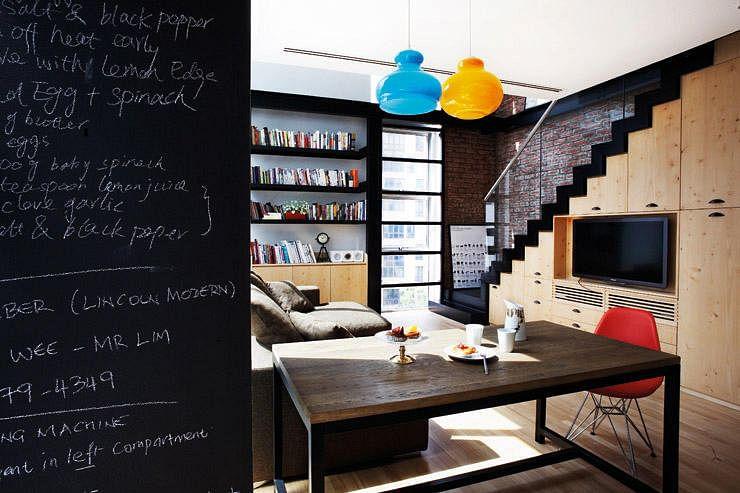 Interior Design By Museum Blackboard Dining 2
