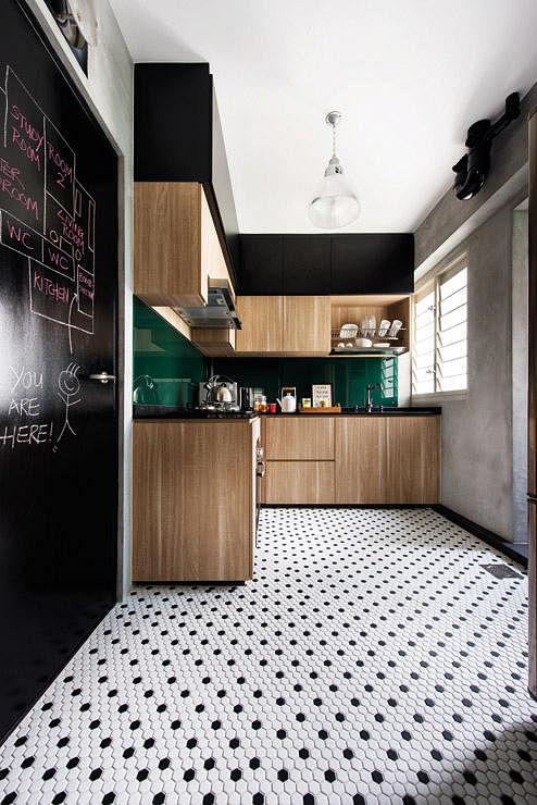 Interior Design By DistinctIdentity Blackboard Kitchen 10