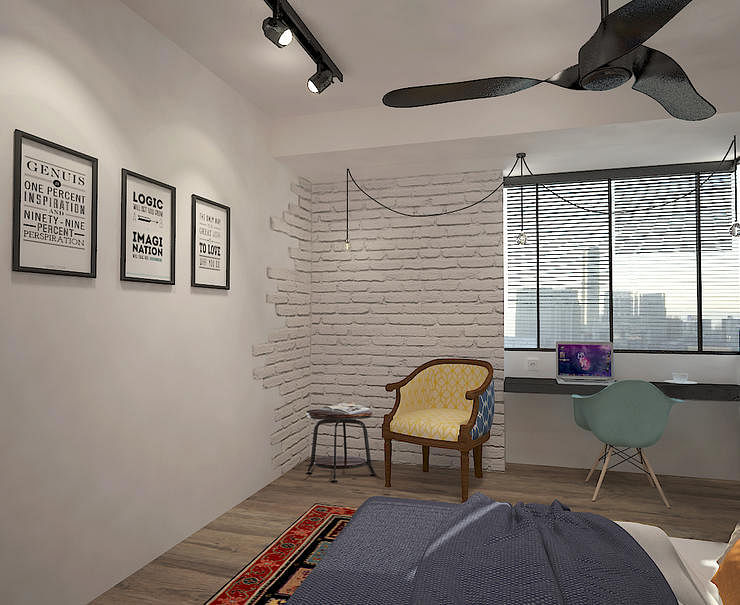 5 New Ways To Feature Raw Bricks On A Wall Home Decor Singapore - brick wall design