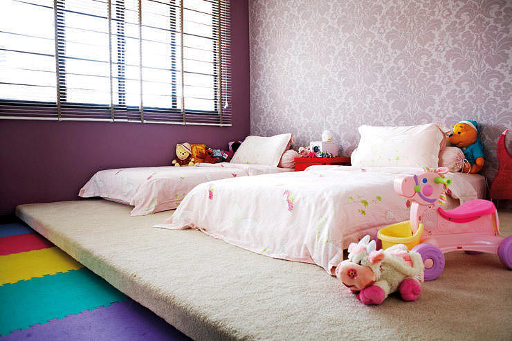 7 great children's bedrooms in hdb flats | home & decor singapore Children Bedroom Design