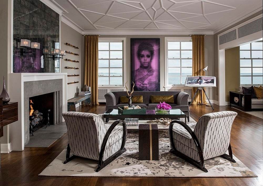 House Tour Dark And Glamourous Interiors Inspired By The Roaring Twenties