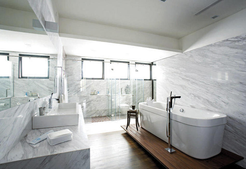 Bathroom Design Ideas 7 Material Finishes For Walls And