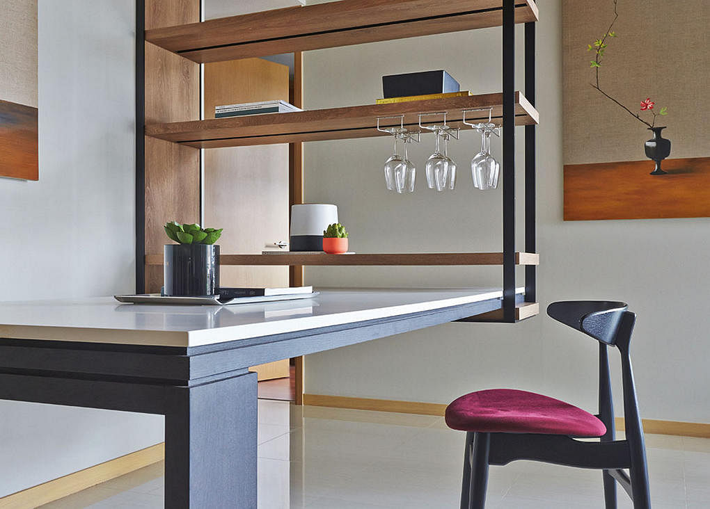 Cool shelving joey khu interior design