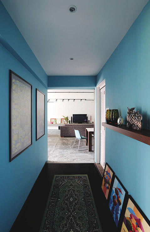 Corridor Design Color: 12 Great Ways To Dress Up Narrow Corridors