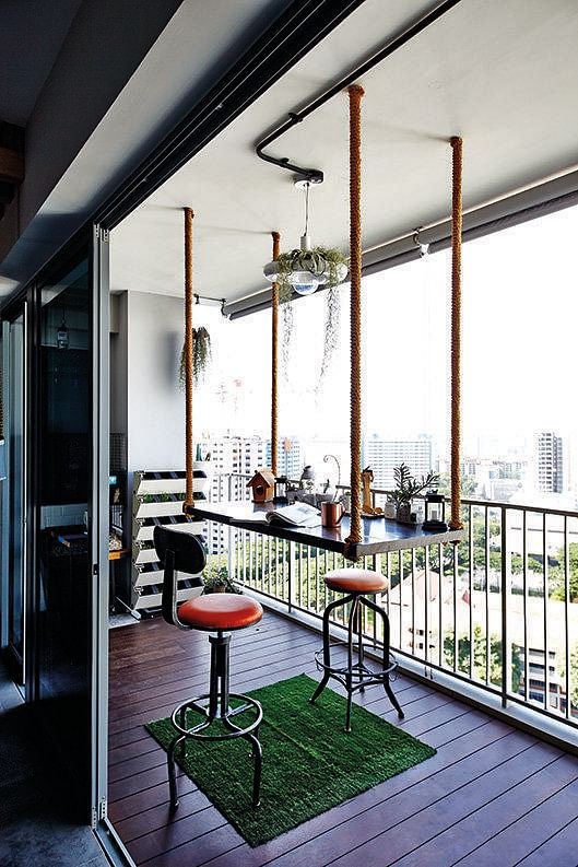 Amazing Nice Balcony Designs Singapore Contemporary - Simple Design ...