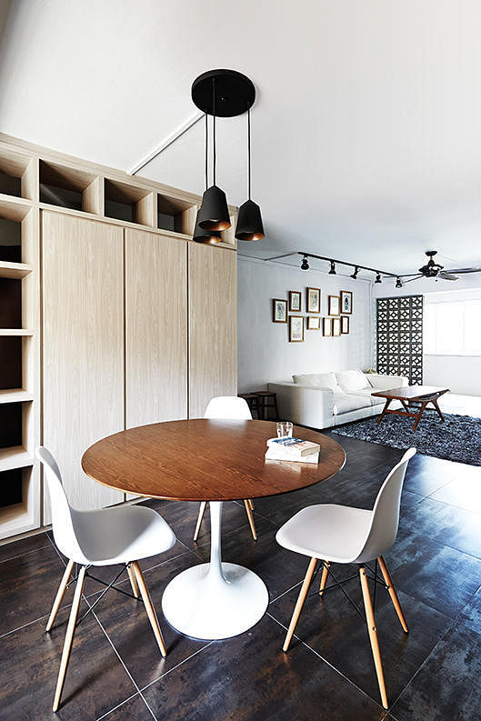 10 design ideas for small-space dining areas in HDB flat homes 9