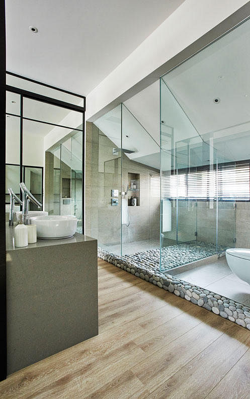 Bathroom Design Ideas 10 Contemporary Open Concept Spaces