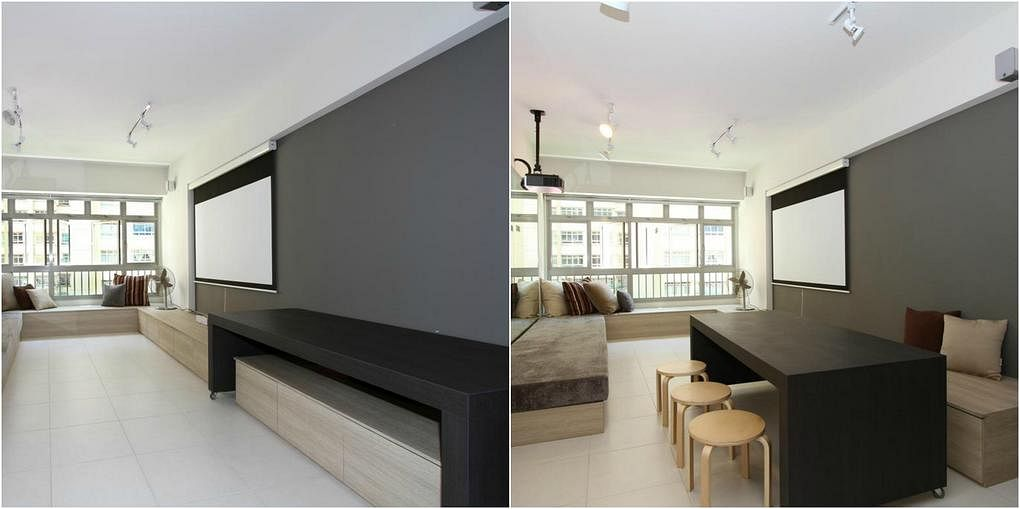 10 design ideas for small-space dining areas in HDB flat homes 4