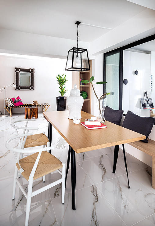 10 design ideas for small-space dining areas in HDB flat homes 5